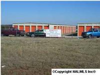 Storage facility with 60 devices and vehicle lot