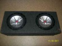 "2 10"" subs and the amp work good $300  pedro Location:"