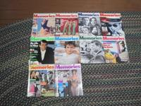 Ten Memories magazines for sale. $ 10.00 for all. Dec