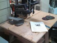 "Montgomery Wards Brand 10"" Radial Arm Saw. South"