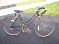 Black 10 speed Road Champion bicycle. Jim  Location: