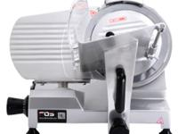 "This is our Brand new 10"" Semi-auto Meat Slicer which"