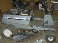 "10hp 30"" cut yard machine runs and cuts good call"