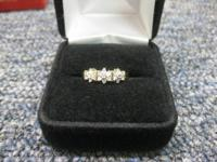 I have a 10kt yellow gold ladies ring for sale ring