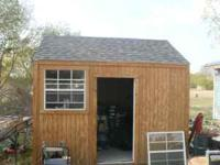 10x12 storage shed for details call steve  $1,500.00 or