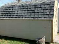 we are selling our 10x12 shed. this was bought in feb