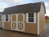 10x16 Elite Lofted Barn for immediate
