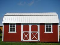 Siding is LP SmartSide siding. Floor decking is treated