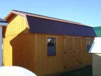 We have NEW 10X20 Sheds for $2900.00 and FREE Delivery