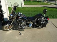 2006 Harley Davidson Fat Boy FLSTFI. Great condition,