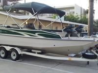 1997 Sun Tracker PARTY DECK 21 - Fishing, Ski/Wake