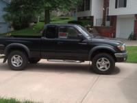 2002 Toyota Tacoma SR5 Pickup, TRD, 4x4 extended cab