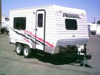 2012 CARSON REBEL CARSON REBEL 7'x14'. Can be towed by