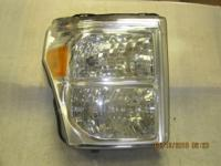 11-16 Ford Super Duty passenger side headlight. Factory