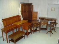 SOLID Cherry and SOLID Walnut furniture from famous