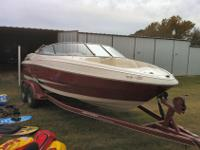 We are selling our 1999 Monterey boat, trailer, and