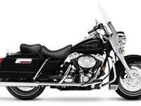 2007 HARLEY-DAVIDSON FLHR ROAD KING, Vivid Black,