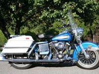 1972 Electra Glide with original paint. Clean title.