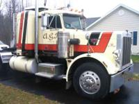 The truck has 400a Cat 3406 jake rebuilt in 2006 (have