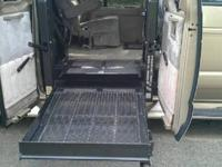 2000 Ford customized Starcraft Handicap Van for sale.