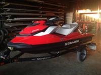 I'm selling my 2012 seadoo. It has ten hours on it and