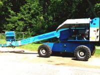 1996 Genie S60 4x4 manlift Diesel 6500 hours s/n