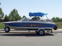 Selling our 2006 Bayliner 175. We are the second
