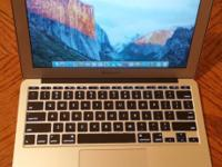 Up for sale is laptop computer Brand: Apple Model
