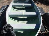 "Aluminum Fishing Boat-- 11'6"" - Fantastic shape /"