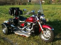 Kawasaki 2008 V/Twin 900cc EFI Classic {Trike } or Bike