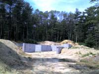 Private wooded lot near Great South Pond minutes from