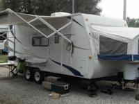 Selling our 2009 KZ Coyote Expandable Travel Trailer,