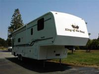 2000 MODEL R31RL KING OF THE ROAD fifth WHEEL.