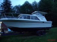 I have a 1980 26 foot Carver Monterey hard top with