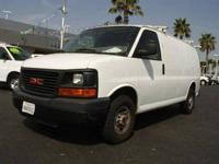 2008 GMC SAVANA CARGO VAN WORK VAN, White***single