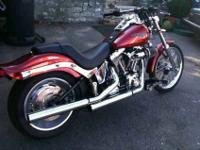 Hi, You are looking at my 2008 Custom softail with a
