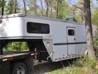 In coming trade 2004 Sundowner 2 1. Rear ramp plus side