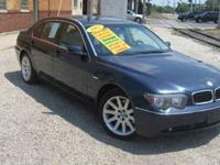 LOADED 745 LI LEATHER INTERIOR, SUNROOF, NAVIGATION