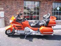 2002 Honda Goldwing GL1800 $11999 67,967 Miles This