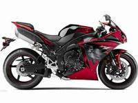 2011 YAMAHA YZF-R1, Two-tone Candy Red / Raven, the