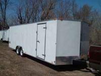 2011 Cargo Mate 8 1/2 x 24 ' enclosed trailer Extra