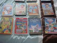 11 Children's DVDs for sale. All in great working