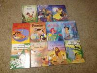 I have 11 hardback Twin Gallery Disney Books in Great