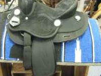 "11"" Suede Seat Trail Saddle-New King Series Full QH"