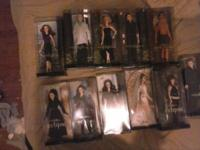 I have 11 twilight barbies for sale, all for 300 or