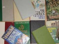 11 Victoria Holt Novels, all great shape, phone