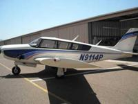 Beautiful Piper Comanche 260B ! Aircraft meticulously