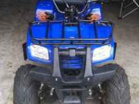 Up for sale is an aftermarket atv with 110cc. Purchased