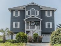 Oceanfront home in one of Topsail Island's most
