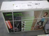 I am selling a Total Body Pro Elliptical Brand new in